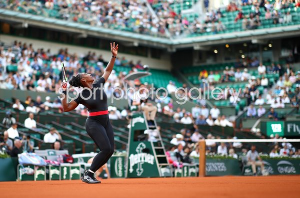 Serena Williams USA French Open Paris 2018