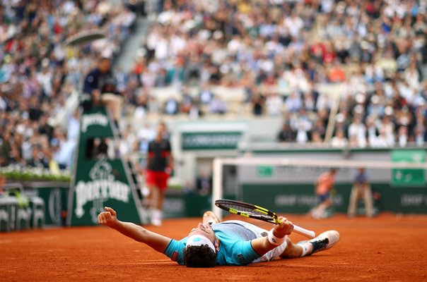 Marco Cecchinato beats Novak Djokovic French Open 2018