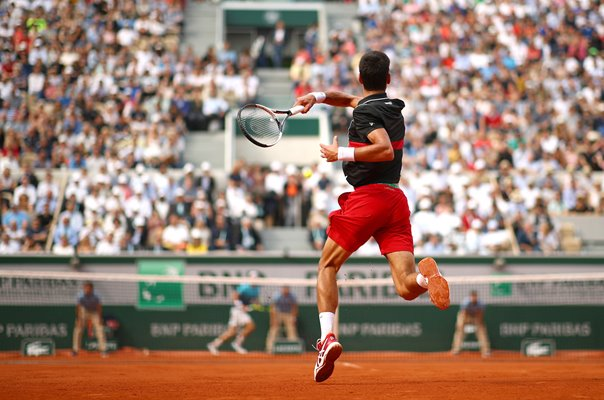 Novak Djokovic v Marco Cecchinato French Open 2018