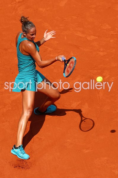 Madison Keys USA Forehand French Open Paris 2018