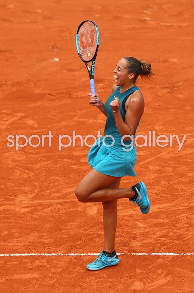 Madison Keys beats Yulia Putintseva 2018 French Open