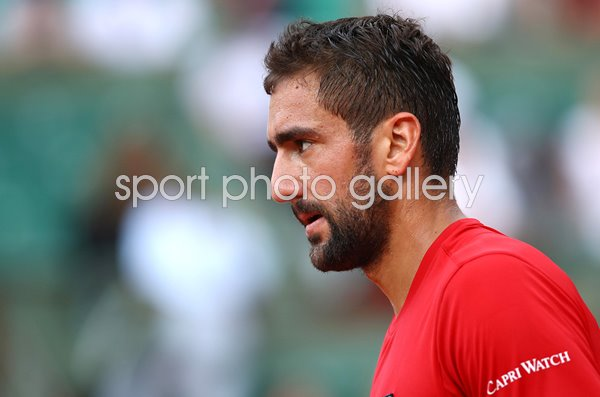 Marin Cilic Croatia French Open Paris 2018