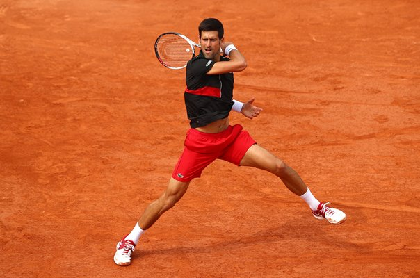 Novak Djokovic Serbia 2018 French Open
