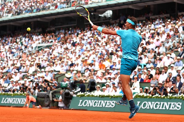Rafael Nadal French Open Final Roland Garros 2018