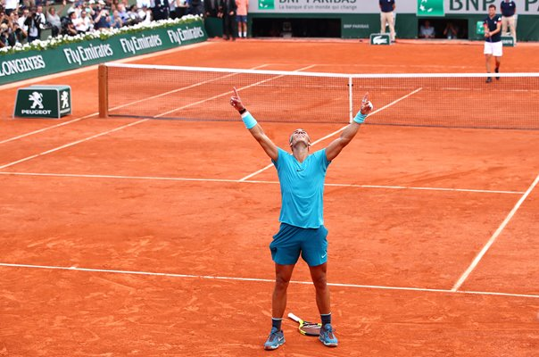 Rafael Nadal French Open Champion Roland Garros 2018