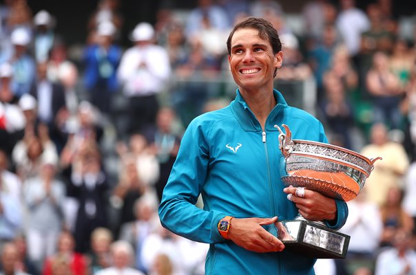 Rafael Nadal French Open Champion Paris 2018