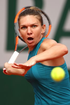 Simona Halep Romania 2018 French Open Final