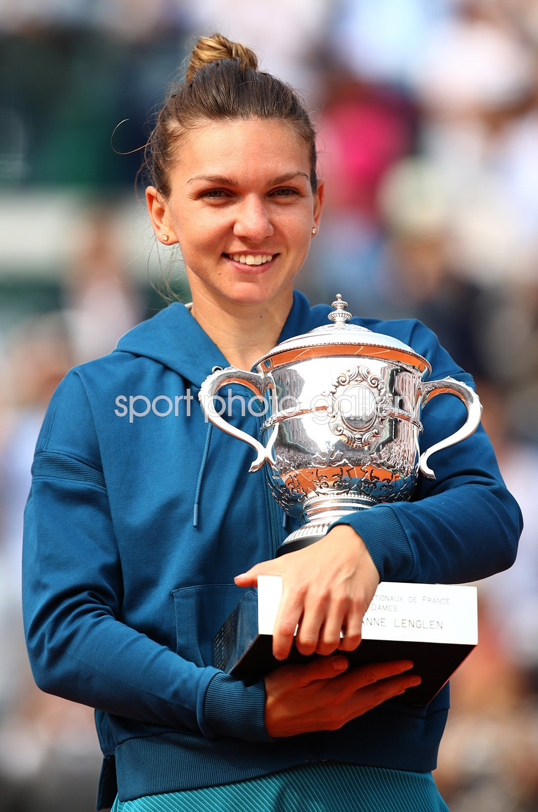 Simona Halep Romania 2018 French Open Champion