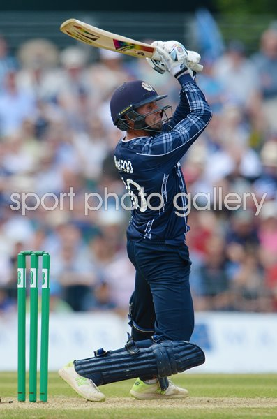 Calum MacLeod Scotland v England ODI Edinburgh 2018