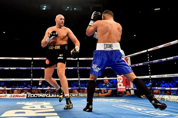 Tyson Fury v Sefer Seferi Heavyweight Fight Manchester 2018