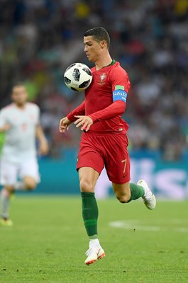 Cristiano Ronaldo Portugal v Spain World Cup 2018