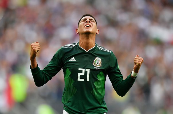 Edson Alvarez Mexico win v Germany World Cup 2018