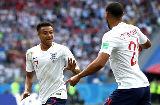 Jesse Lingard & Ruben Loftus-Cheek England v Panama World Cup 2018