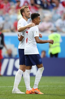 Harry Kane & Jesse Lingard England v Panama World Cup 2018