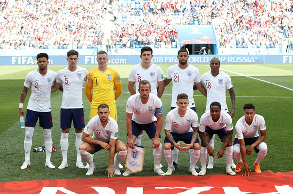 England team v Panama Group G World Cup 2018