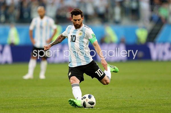 Lionel Messi Argentina V Nigeria World Cup 2018