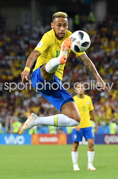 Neymar Brazil v Serbia Group E World Cup 2018