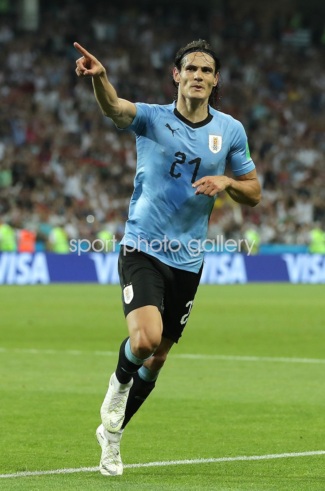pretty nice aa827 97dcf Edinson Cavani Uruguay v Portugal Sochi World Cup 2018