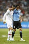 Cristiano Ronaldo & Edinson Cavani Uruguay v Portugal World Cup 2018 Mounts