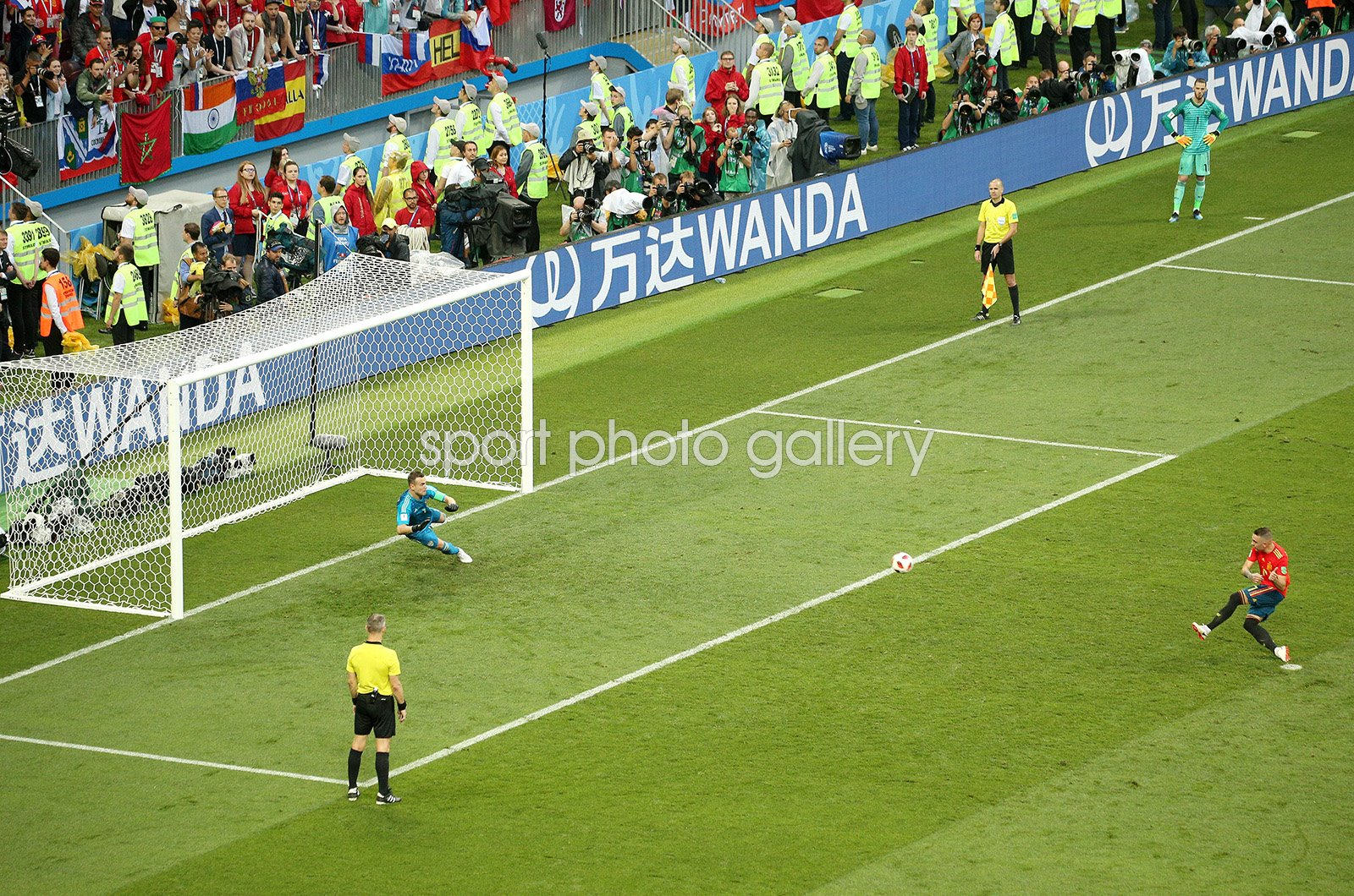 Igor Akinfeev Russia winning save v Spain Last 16 World Cup 2018