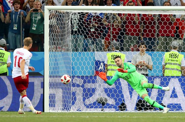 Danijel Subasic Croatia v Denmark Last 16 World Cup 2018