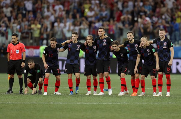 Croatia v Denmark Penalties Last 16 World Cup 2018