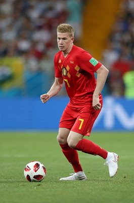 Kevin De Bruyne Belgium v Japan Last 16 World Cup 2018