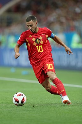Eden Hazard Belgium v Japan Last 16 World Cup 2018