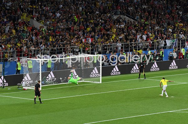 Jordan Pickford Save v Colombia Last 16 World Cup 2018