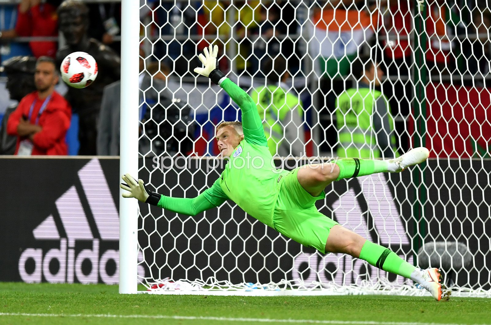 Jordan Pickford England Penalty Save v Colombia World Cup 2018