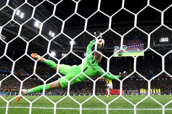 Jordan Pickford England Winning Save v Colombia World Cup 2018