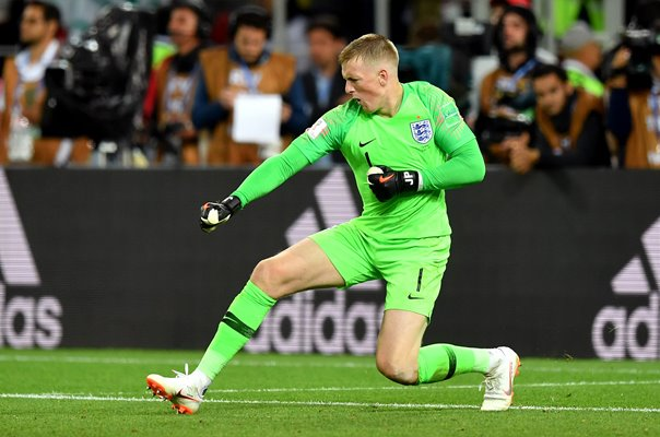 Jordan Pickford England Penalty Hero v Colombia World Cup 2018