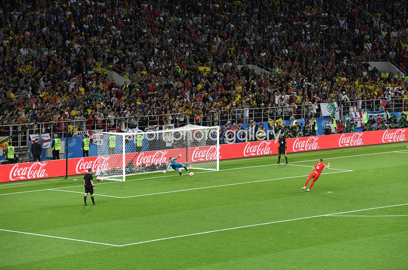Eric Dier Winning Penalty England v Colombia World Cup 2018