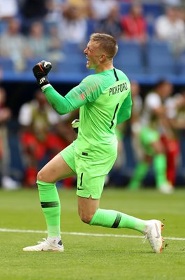 Jordan Pickford England v Sweden Quarter Final World Cup 2018