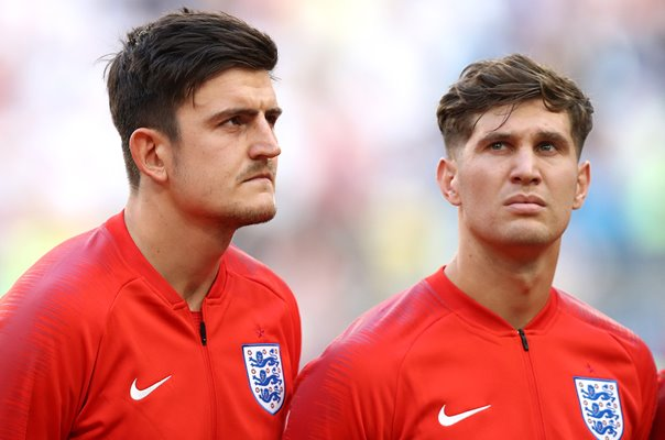 Harry Maguire & John Stones England Quarter Final 2018