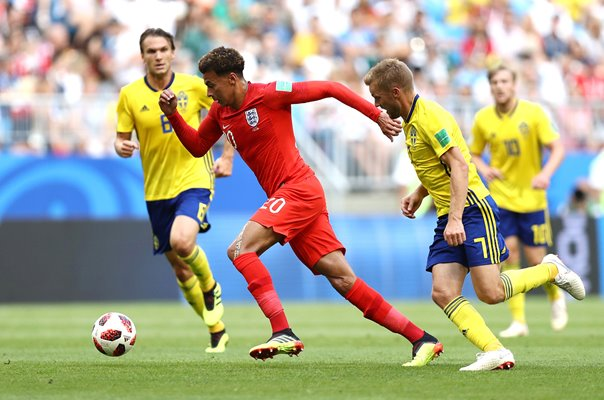 Dele Alli England v Sweden Quarter Final World Cup 2018