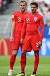 Harry Kane & Dele Alli England Quarter Final World Cup 2018 Canvas