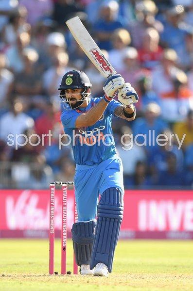 Virat Kohli India v England T20 Sophia Gardens 2018