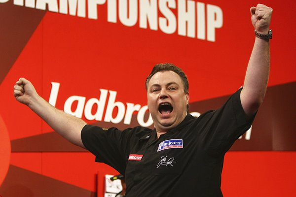John Part World Darts Champion 2008