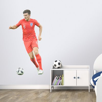 Harry Maguire England v Tunisia World Cup 2018 Wallsticker