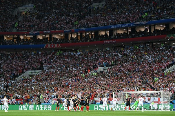 Kieran Trippier England Goal Semi Final World Cup 2018
