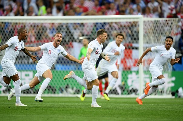 Kieran Trippier England scores Semi Final World Cup 2018