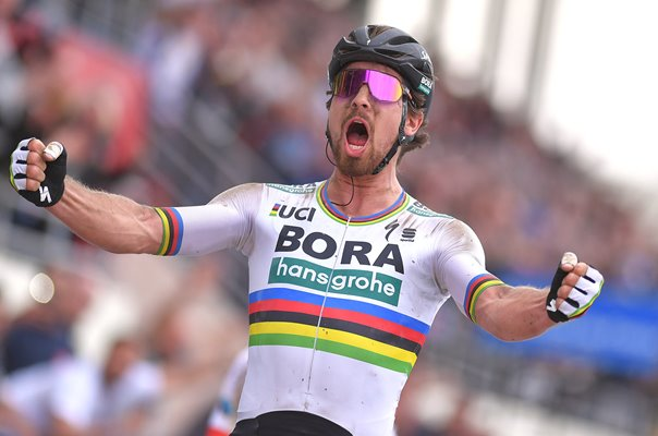 Peter Sagan Bora - Hansgrohe wins Paris to Roubaix 2018