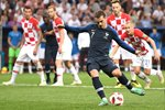 Antoine Griezmann France scores v Croatia World Cup Final 2018 Prints