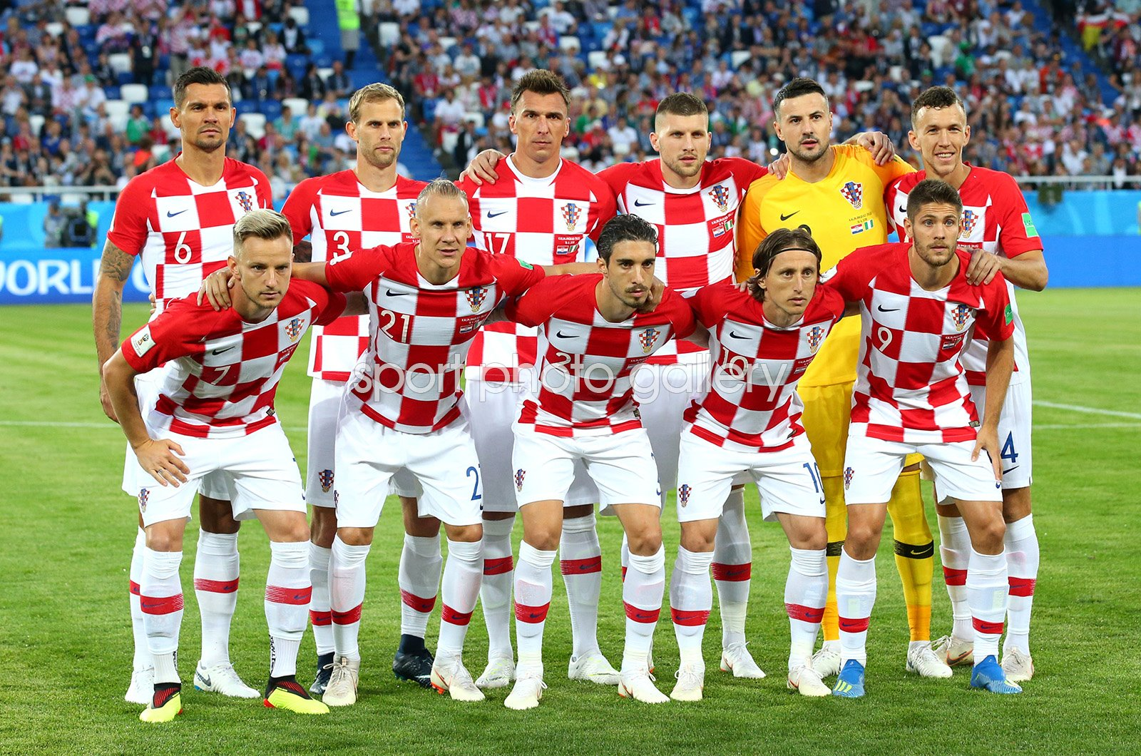 Croatia team v Nigeria Group D World Cup 2018