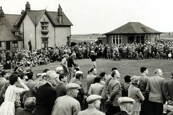 Ben Hogan USA British Open Golf Carnoustie 1953