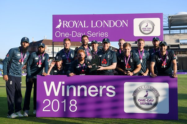 England team ODI Series win v India Headingley 2018