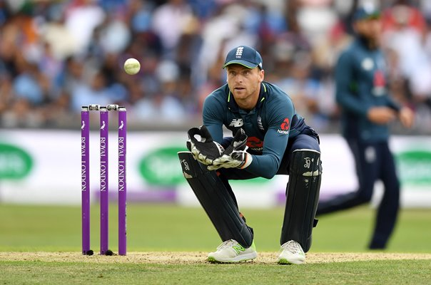 Jos Buttler England v India ODI Series Headingley 2018