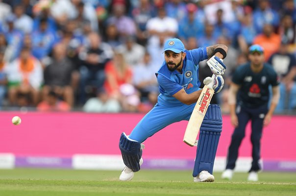 Virat Kohli India v England ODI Headingley 2018