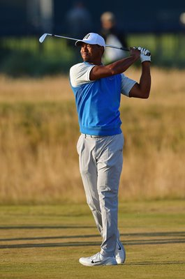 Tiger Woods USA British Open Carnoustie 2018